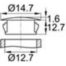 Заглушка под отверстие диаметром 12,7 мм.