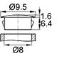 Заглушка под отверстие диаметром 8 мм.