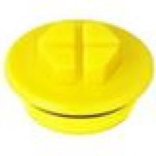 Заглушка пластиковая с уплотнительным кольцом из каучука.
