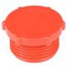 Заглушка пластиковая для внутренней резьбы M10, красная,Серия TFU