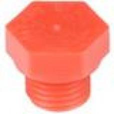 Заглушка пластиковая для внутренней резьбы M14, красная,Серия TFU