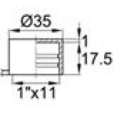 Колпачок с отрывным ярлычком для наружной резьбы 1