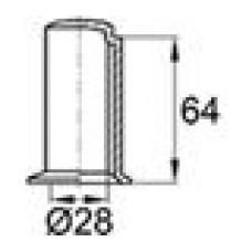 Защитный пластиковый колпачок на вал диаметром 28 мм.
