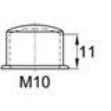 Колпачок пластиковый высотой 15 мм на болт/гайку M10.