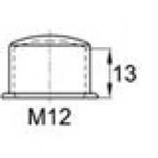Колпачок пластиковый высотой 17 мм на болт/гайку M12.