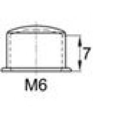 Колпачок пластиковый высотой 10 мм на болт/гайку M6.