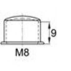 Колпачок пластиковый высотой 12 мм на болт/гайку M8.