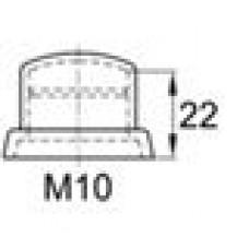 Колпачок пластиковый высотой 26 мм на болт/гайку M10.