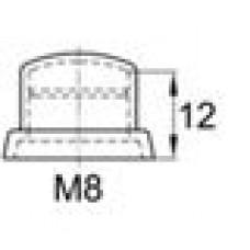 Колпачок пластиковый высотой 15 мм на болт/гайку M8.