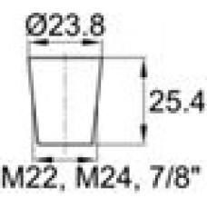Заглушка термостойкая под отверстие диаметром 18.3-23.8 мм.