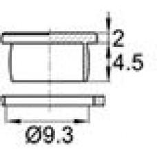 Пластиковая заглушка под отверстие диаметром 9.3 мм. Подходит под резьбу М10.