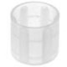 Заглушка пластиковая наружная для труб/прутков круглого сечения диаметром 14 мм.