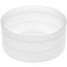 Заглушка пластиковая наружная для труб круглого сечения с внешним диаметром сечения 41.3 мм и любой толщиной стенки.