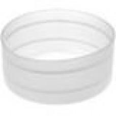 Заглушка пластиковая наружная для труб круглого сечения с внешним диаметром сечения 76 мм и любой толщиной стенки.