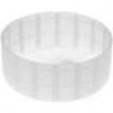 Заглушка пластиковая наружная для труб круглого сечения с внешним диаметром сечения 77 мм и любой толщиной стенки.