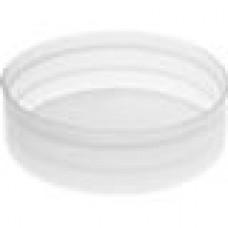 Заглушка пластиковая наружная для труб круглого сечения с внешним диаметром сечения 90 мм и любой толщиной стенки.