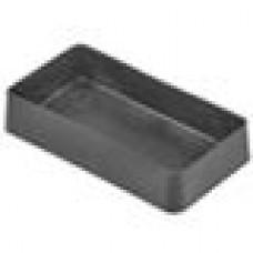 Заглушка пластиковая наружная для труб прямоугольного сечения с внешними габаритами сечения 40x20 мм