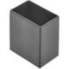 Заглушка пластиковая наружная для труб прямоугольного сечения с внешним габаритами сечения 40x25 мм.
