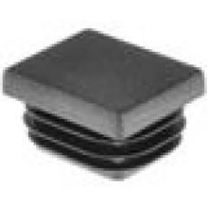 Заглушка пластиковая внутренняя с толстой шляпкой для труб прямоугольного сечения с внешними габаритами сечения 25х30 мм и толщиной стенки трубы 0.8-3.0 мм.