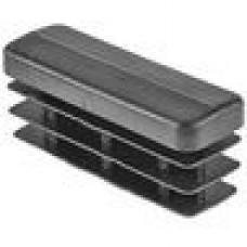 Заглушка пластиковая прямоугольная 30х50, практичная, Модель ILR, стенка 1.0-3.0 мм, белая