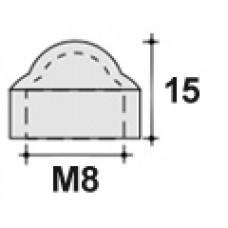 Колпачок пластиковый на болт/гайку M8