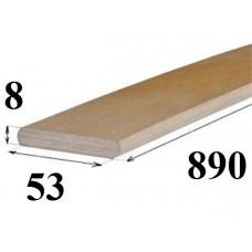 Латофлекс дл. 890мм.толщ 8 мм.шир.53 мм