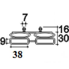 Латодержатель 38Н серый