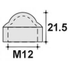 Колпачок пластиковый на болт/гайку M12